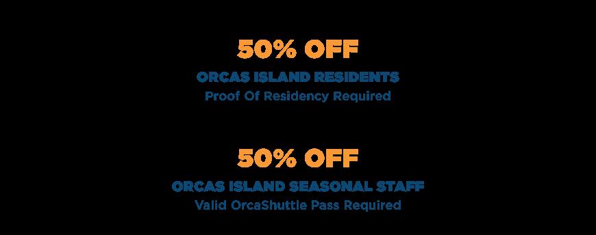 The Orcas Island Shuttle Discounts